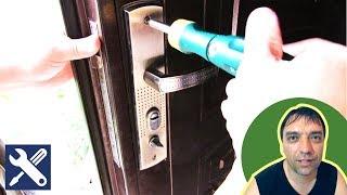 видео Исправляем заводской брак металлической двери