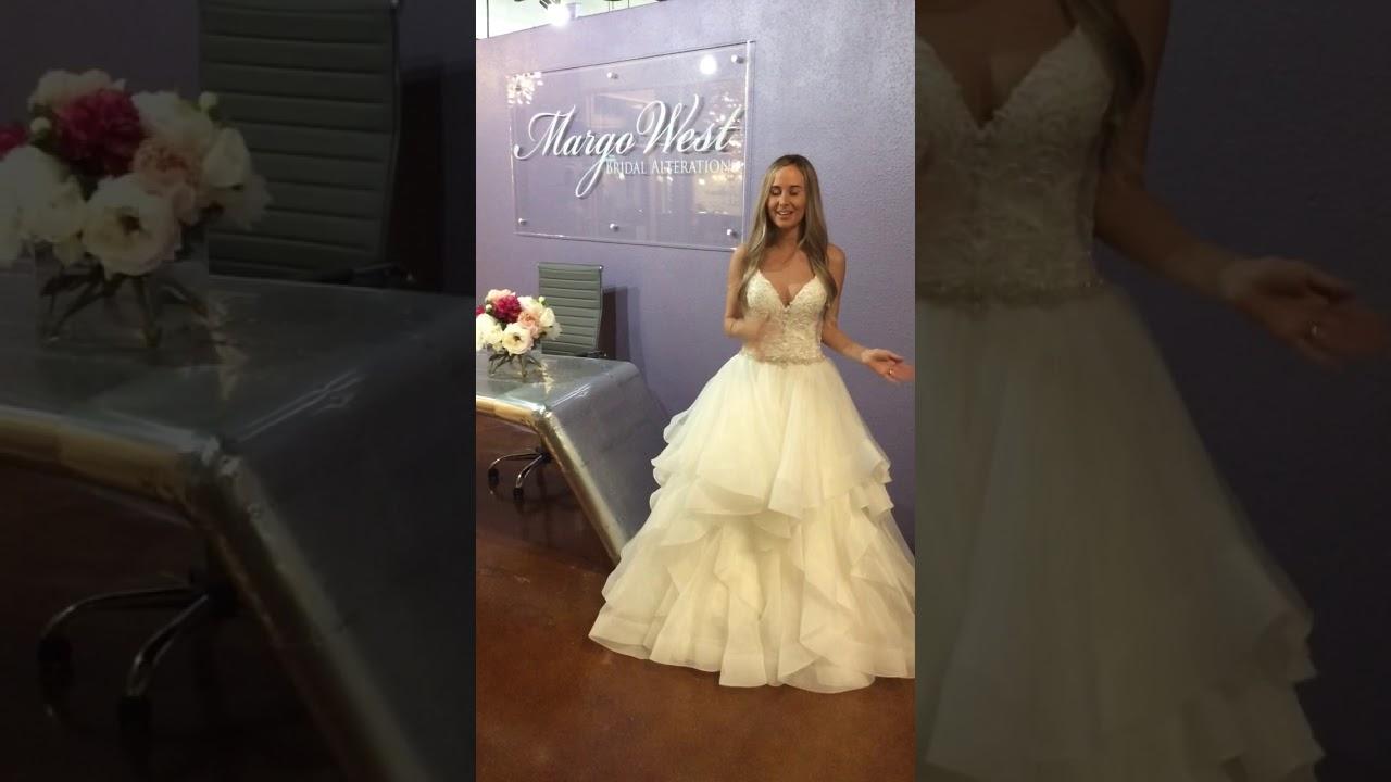Margo West Bridal Alterations Beaded Wedding Dress Youtube