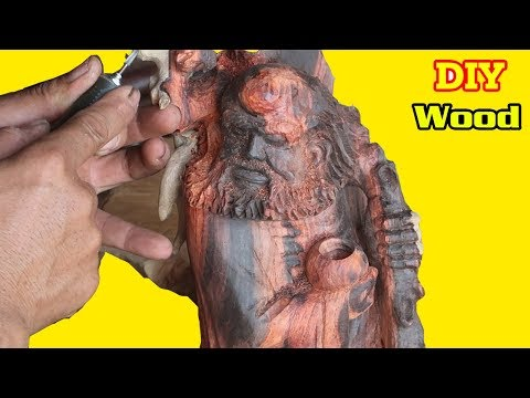 Statue Carving Station Art Bodhi Dharma / Talent of Vietnam Artists
