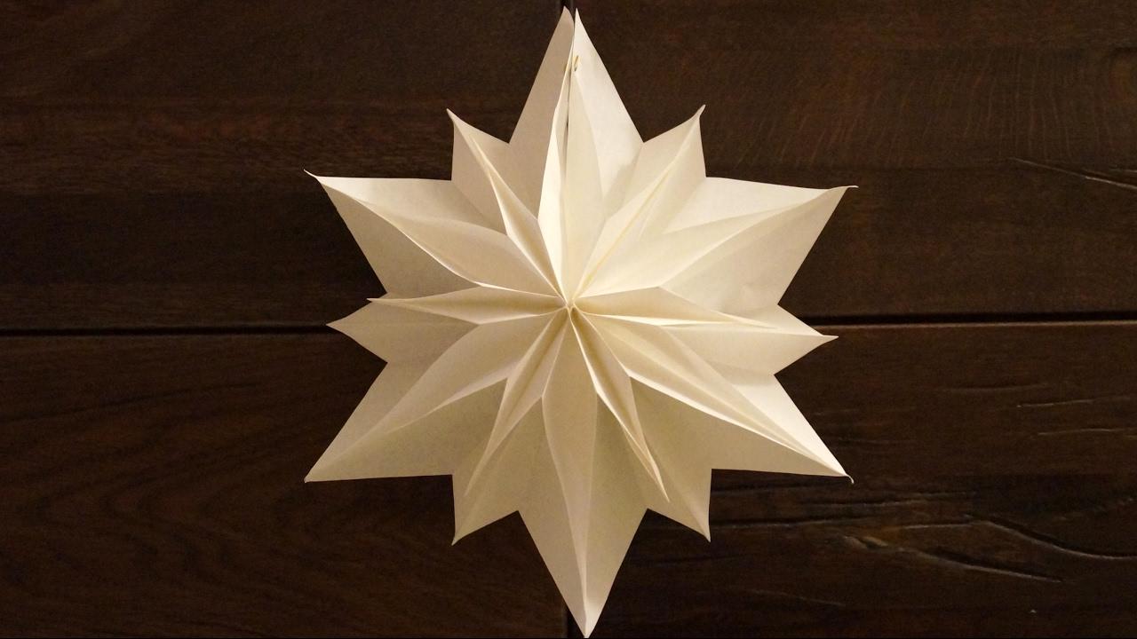 einfache sterne zu weihnachten basteln paper stars