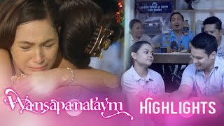 Wansapanataym: Upeng pays the car wash shop and her family a visit