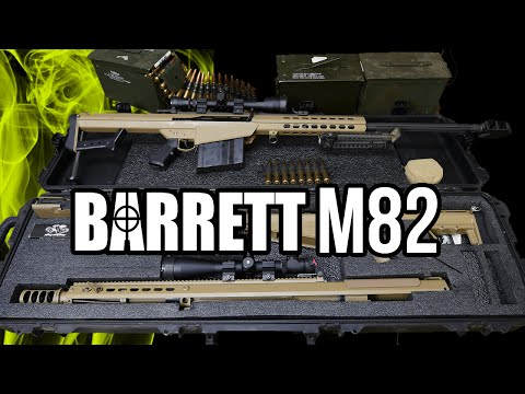 Barrett .50 Caliber Overview (M107 and M82 A1)