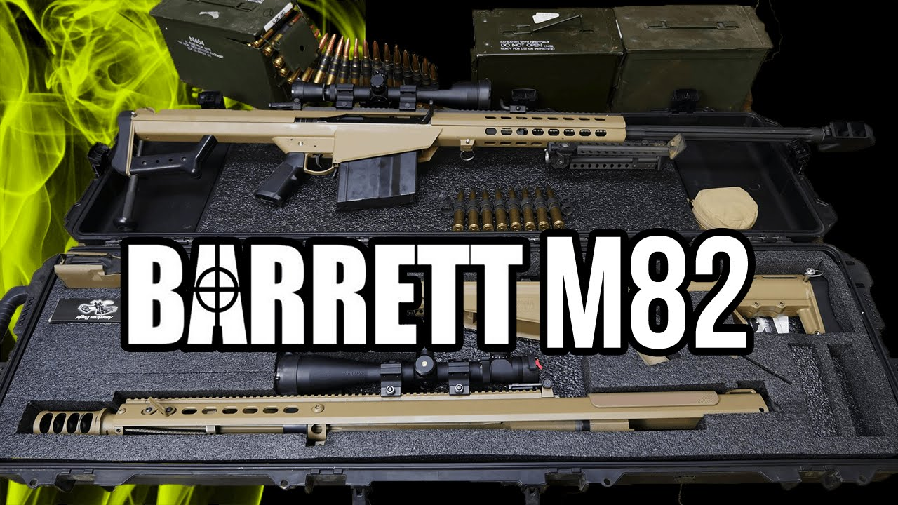 barrett 50 caliber overview m107 and m82 a1 youtube