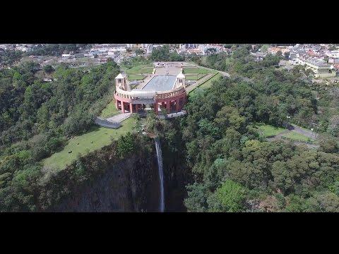 Curitiba pontos turisticos ( Imagens drone 4k )