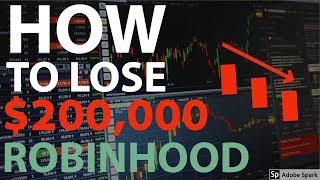 Box Spreads on Robinhood | 1R0NYMANS -2000% Return