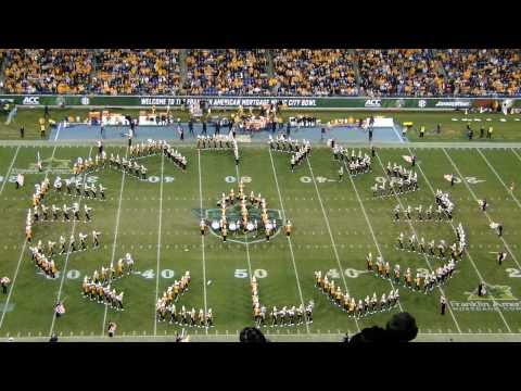 Pride of the Southland Band Circle Drill - Music City Bowl 2010