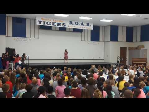 Roar - Presley @ 3rd grade talent show