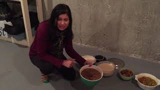 What I ate during holidays : Indian food with family