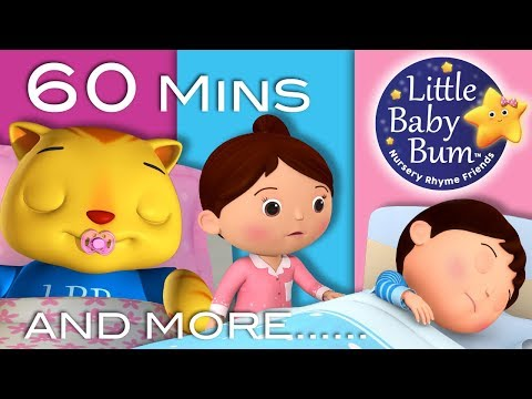 Bedtime Songs   Part 2   Nursery Rhymes   60 Minutes Compilation from LittleBabyBum!