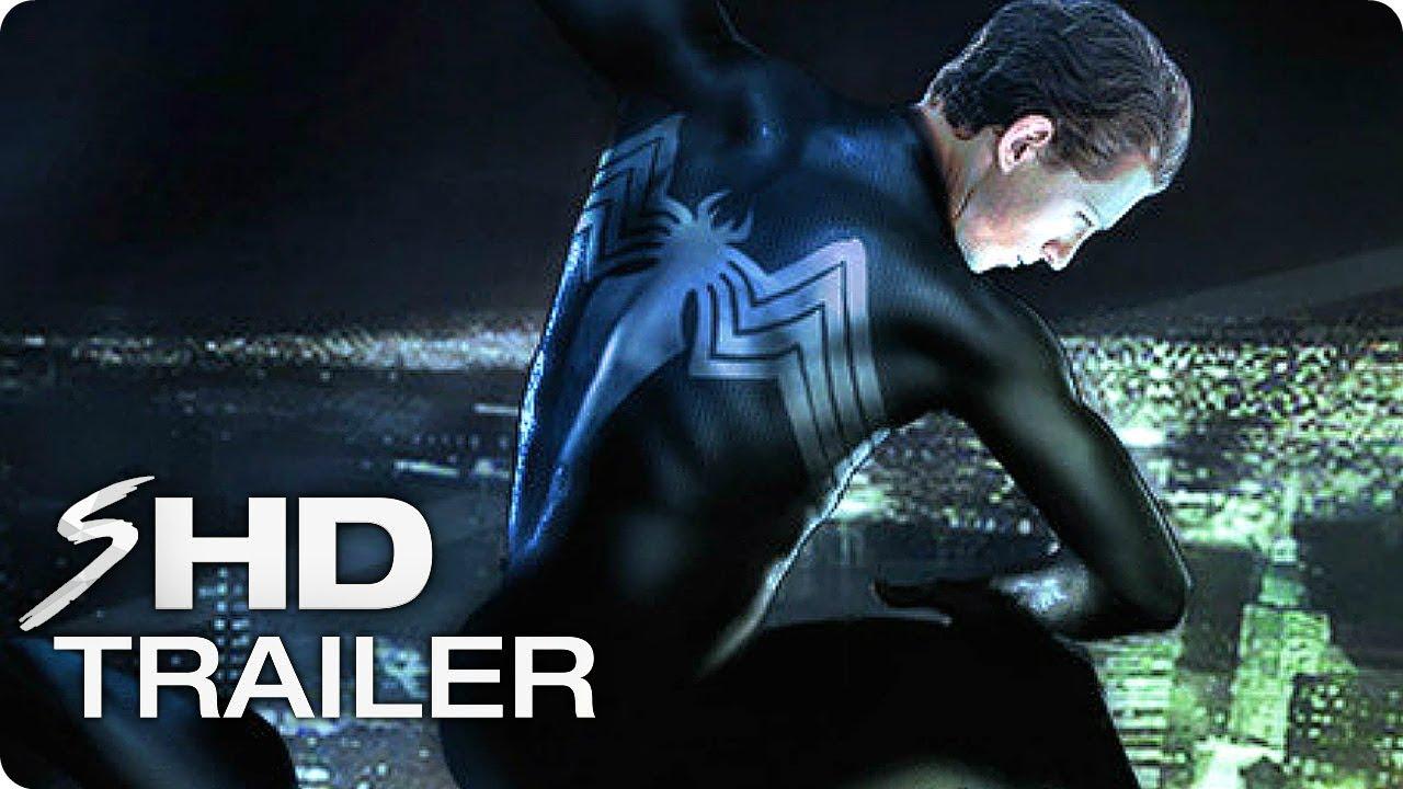 "VENOM ""Peter Parker Symbiote"" Trailer (2018) Concept Tom Holland Marvel Movie"