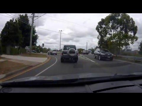 Driving around South Brisbane