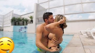 Kissing Prank - SWIMMING POOL EDITION