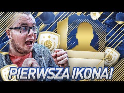 FIFA 18 | PIERWSZA IKONA TRAFIA DO SKŁADU!
