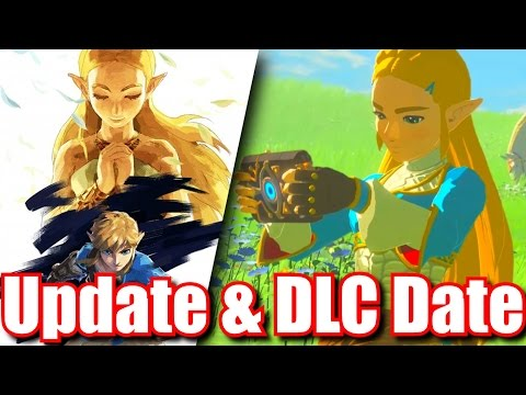 Zelda Breath of the Wild DLC News & Second Update