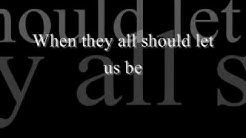 Bee Gees - How Deep Is Your Love (Lyrics)