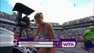 Búp bê Nga Masha bất ngờ dừng bước tại Indian Wells