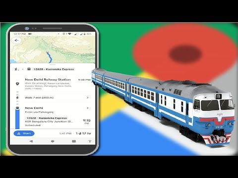 How To Check Live Train Status In Google Maps Android