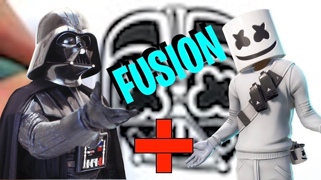 Fusion Challenge Dark Vador And Marshmello