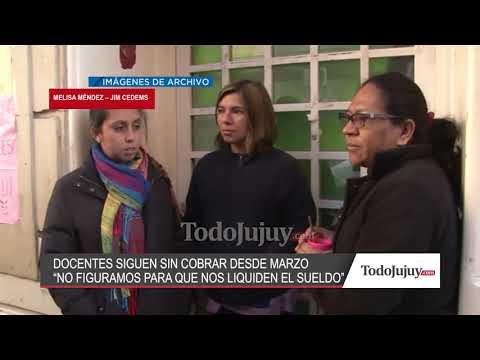 No cobran desde marzo y hoy, los docentes del JIM Cedems, realizaron medidas de fuerza