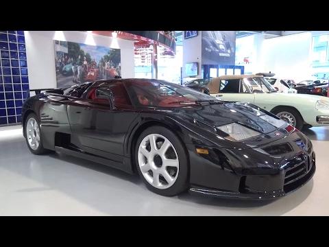 Bugatti EB110 SuperSport: In-Depth Exterior and Interior Tour!