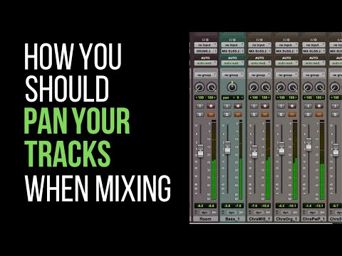 How You Should Pan Your Tracks When Mixing – RecordingRevolution.com