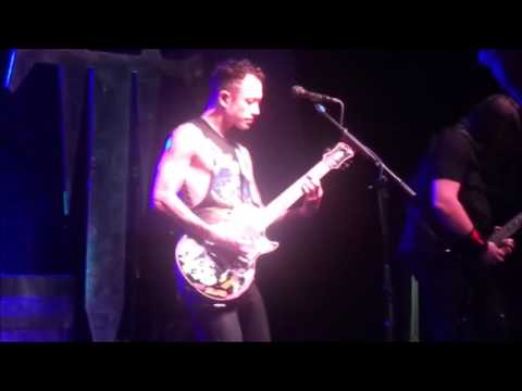 Trivium Live in Little Rock, Arkansas 9-20-2016