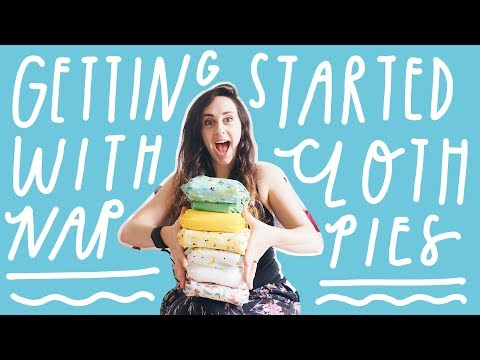 Getting Started With Cloth Nappies | A Beginners Guide From Newborn To Potty