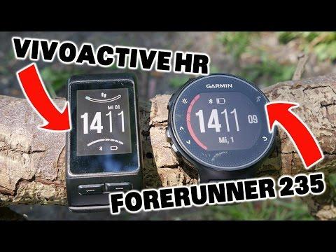 Garmin Vivoactive HR VS Forerunner 235 [deutsch]