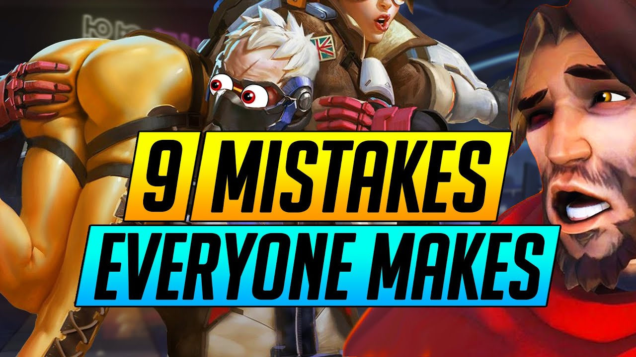 9 BIG Mistakes EVERYONE Makes in Overwatch - Why You are HARDSTUCK - Pro Tips Guide