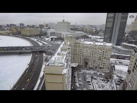 Смотреть Трехпалубный пентхаус: ЦУР нашёл самую большую квартиру Москвы онлайн