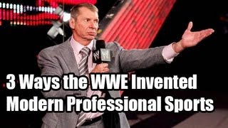 3 Ways the WWE Invented Modern Professional Sports | Today