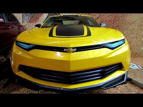 2015 Chevrolet Camaro Prototype from Transformers 4 Movie-Exterior Walkaround-2014 NY Auto Show de YouTube · Alta definición · Duración:  2 minutos 3 segundos  · Más de 609.000 vistas · cargado el 26.04.2014 · cargado por AutoMotoTube