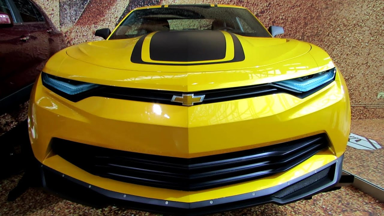 2015 Chevrolet Camaro Prototype From Transformers 4 Movie