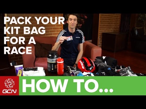 How To Pack Your Kit Bag For A Race | Racesmart
