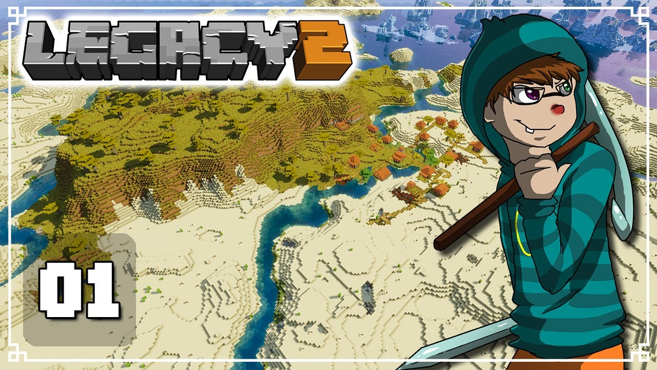A New World YOU Control! - Legacy SMP 2: Episode 1 (Minecraft 1.16 Survival Multiplayer)
