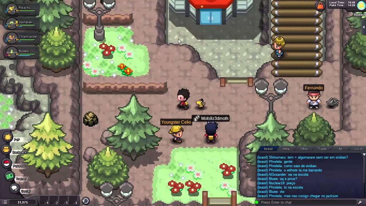 Pro Pokemon Revolution Online Ep3 Mt Moon Youtube