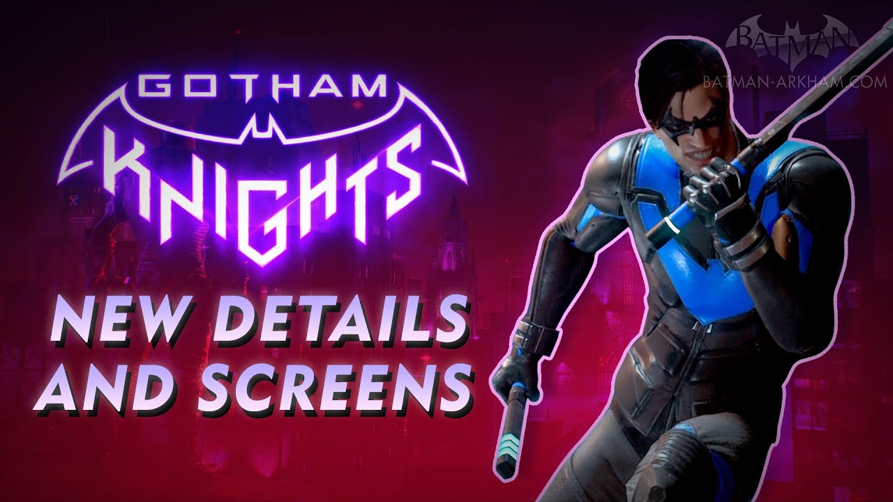 Gotham Knights - New Screens and Details on Combat, Co-Op, Level Progression & More