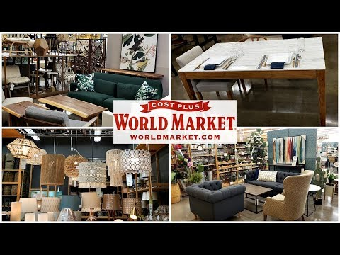 WORLD MARKET * HOME DECOR FURNITURE *UP TO 40% OFF  SHOP WITH ME MAY 2019 thumbnail