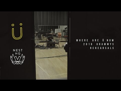 Jack Ü - Where Are Ü Now Live Grammy Rehearsals With Justin Bieber