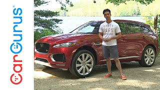 2017 Jaguar F-Pace | CarGurus Test Drive Review