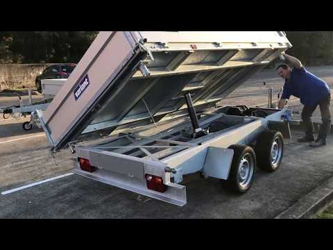 Variant 3017 TB Three Way Tipper Trailer