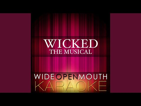 """What Is This Feeling (From The Musical """"Wicked"""") (Karaoke Version) (Original Broadway Cast Of..."""