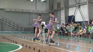 1 место Митрофанова Варвара и Навасардян Вероника Парный Фристайл Saratov Style Contest XV 2021