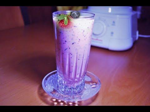 Blueberry Smoothie Recipe By Aisha (Urdu/Hindi)