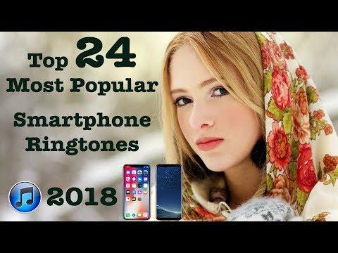 Top 24 Most Popular Smartphone Ringtones 2018