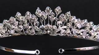 Свадебные прически и короны