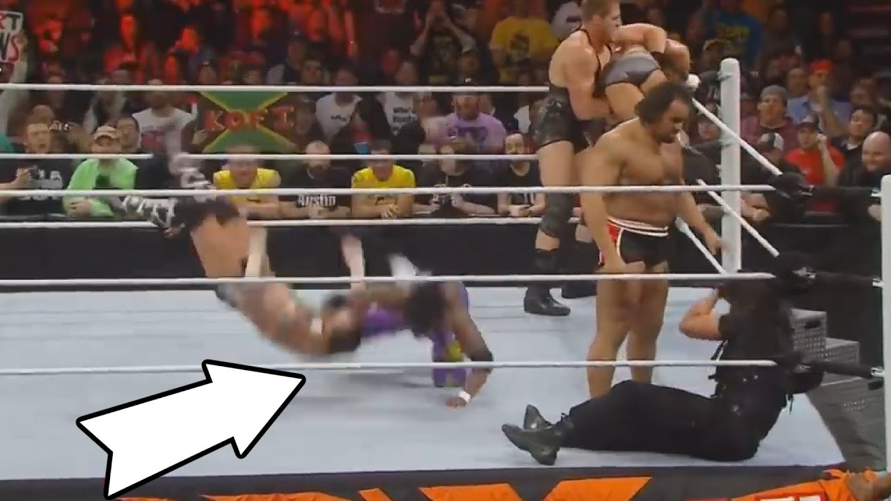 WWE Wrestlers Suffer Painful Injuries at the Royal Rumble