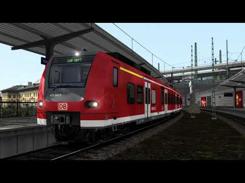 Train Simulator 2021 | 64 BIT | Br 425 Pro Edition | Köln - Bonn Flughaven | RE Zug nach Messe Deutz |