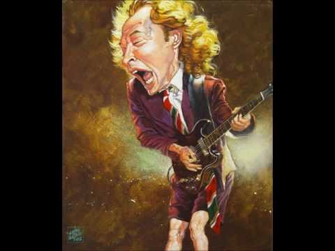 ACDC Back in black, Backing Track.