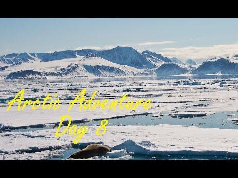 All At Sea (Day 8) - SVALBARD Arctic Adventure || PartTimeWanderlust